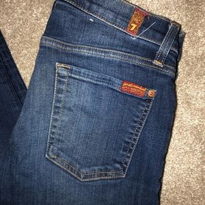 7 for all mankind jeans (the slim cigarette)